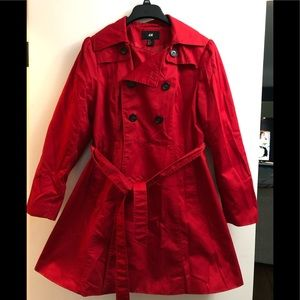 H&m size 10 trench